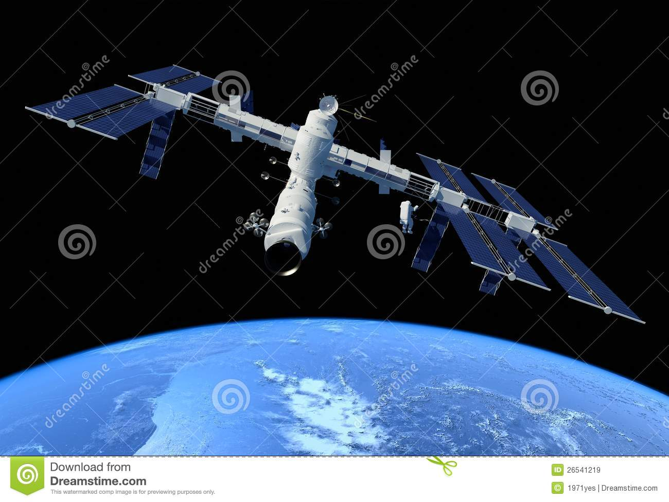 outer space station health - photo #3