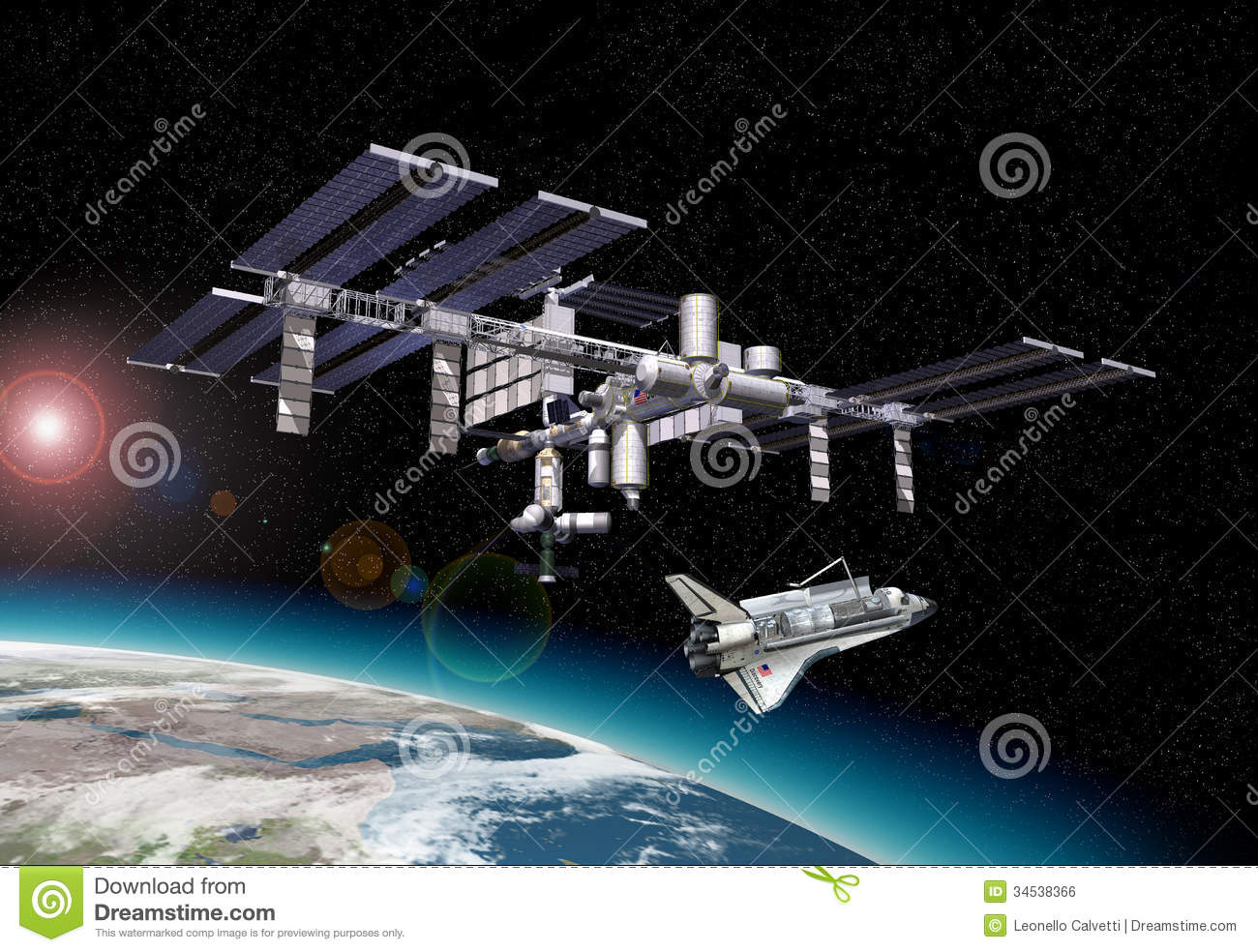 space shuttle trip around earth - photo #7