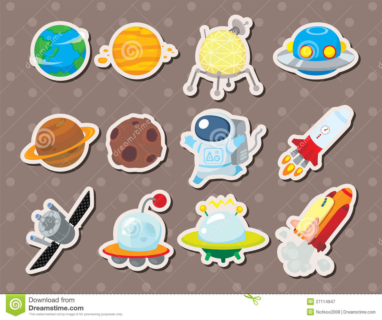 Space stickers royalty free stock photography image for Space decals