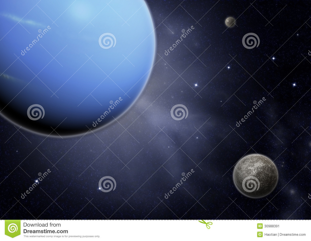 space template stock image