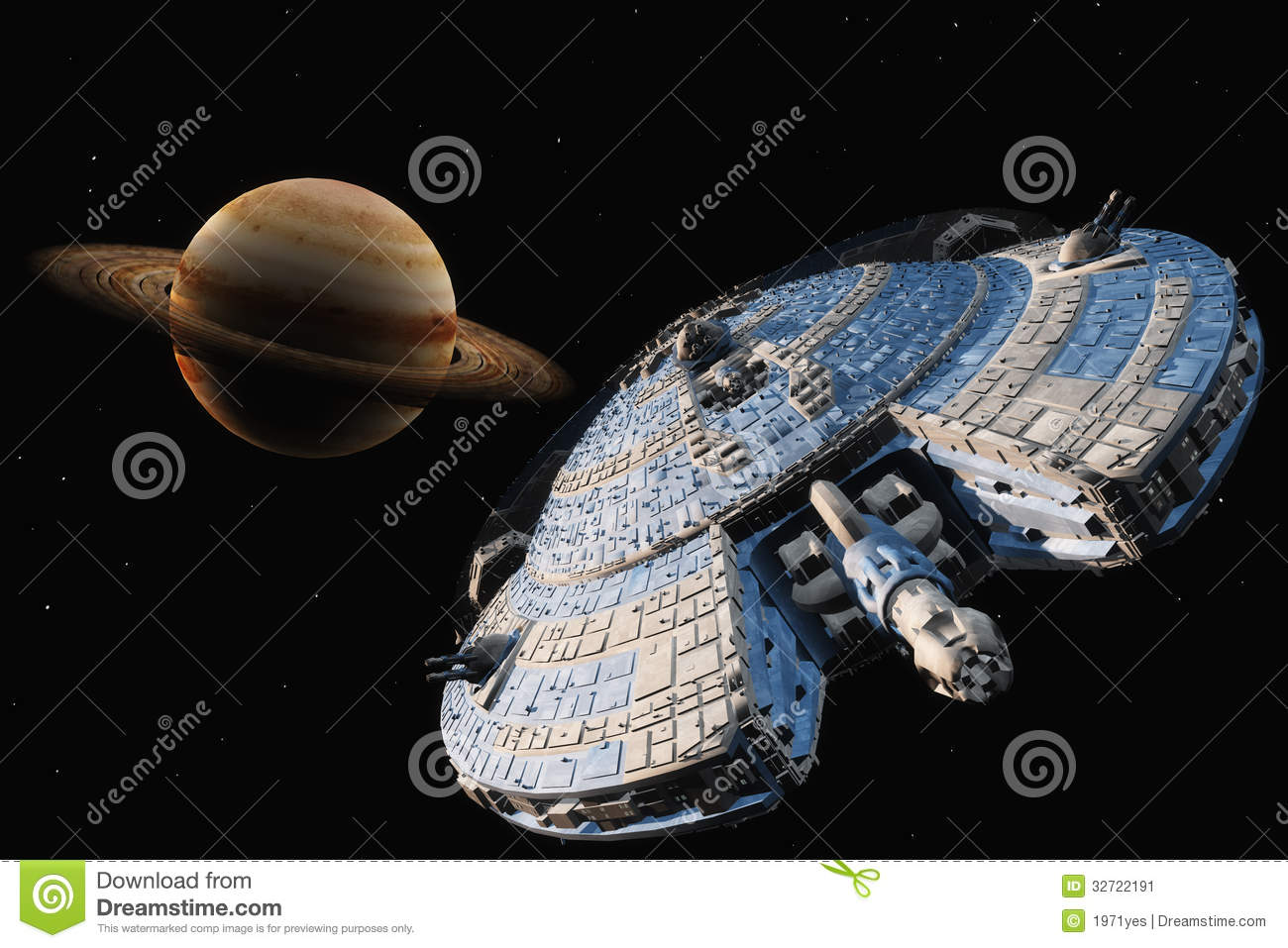 Space Transport Stock Image - Image: 32722191
