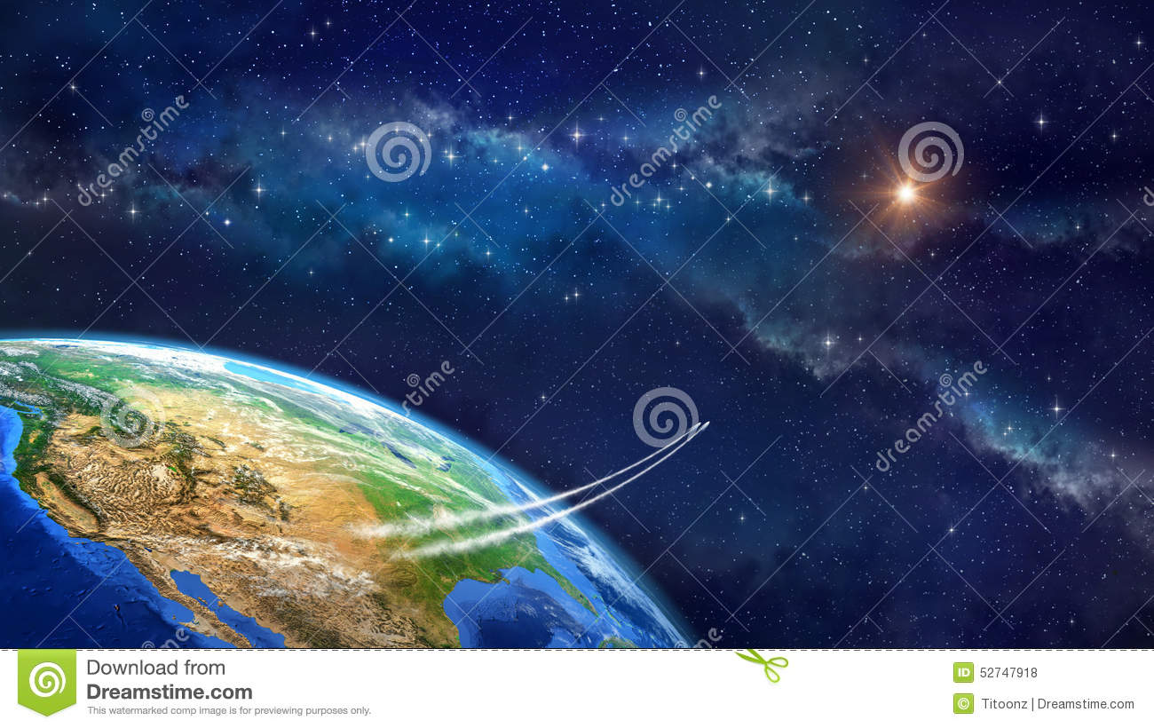 Space travel stock illustration image of infinity cosmos for Outer space travel