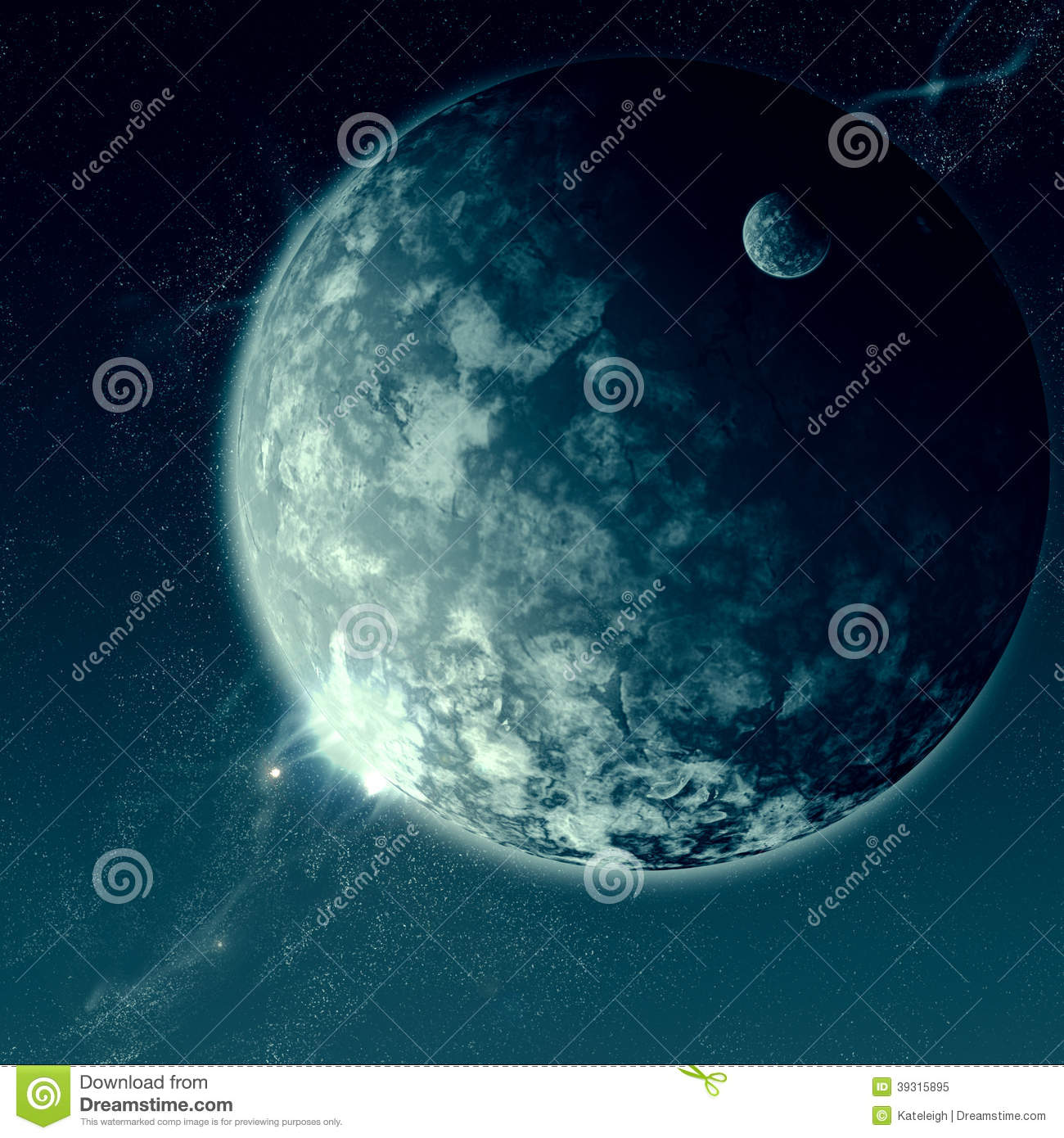 Space is Vast stock illustration. Illustration of drawing ...