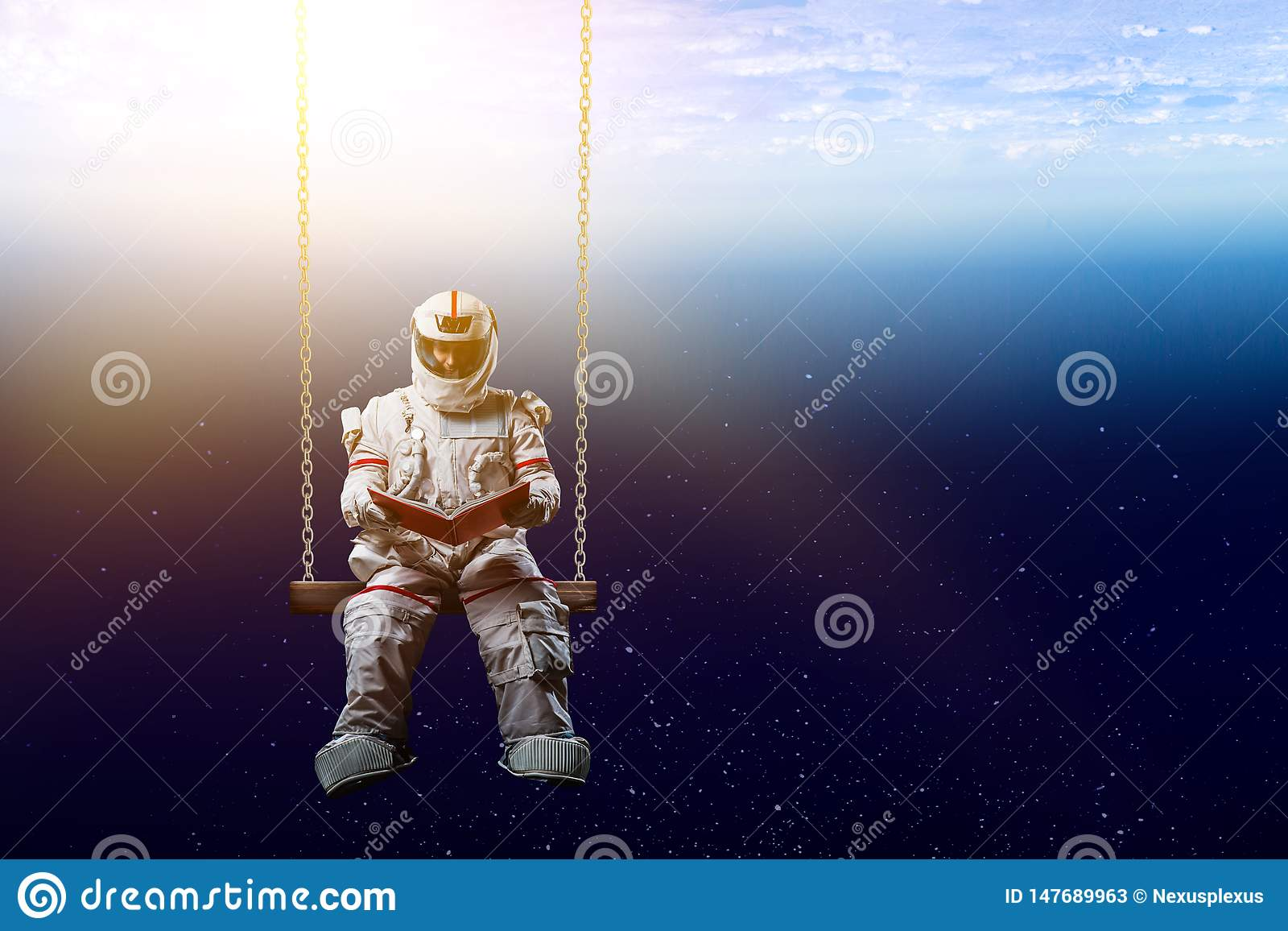 Spaceman και το αφηρημένο θέμα πλανήτη Γη