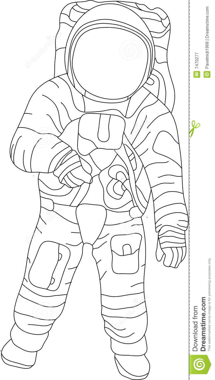 Spaceman Royalty Free Stock Photography Image 7470277