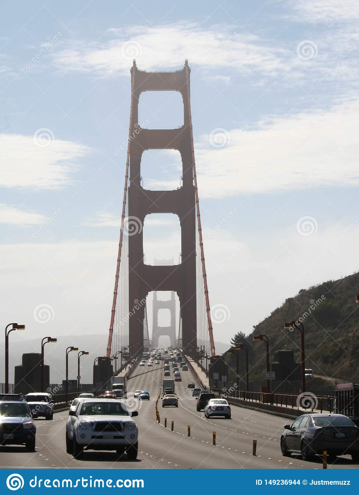Spacer wzd?u? Golden Gate Bridge