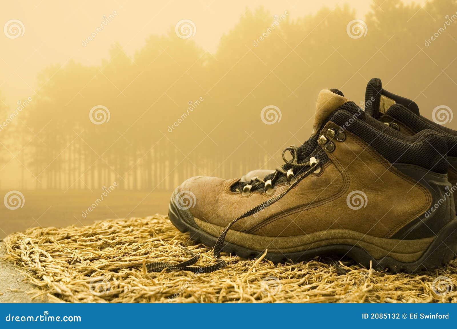 Spacery butów.