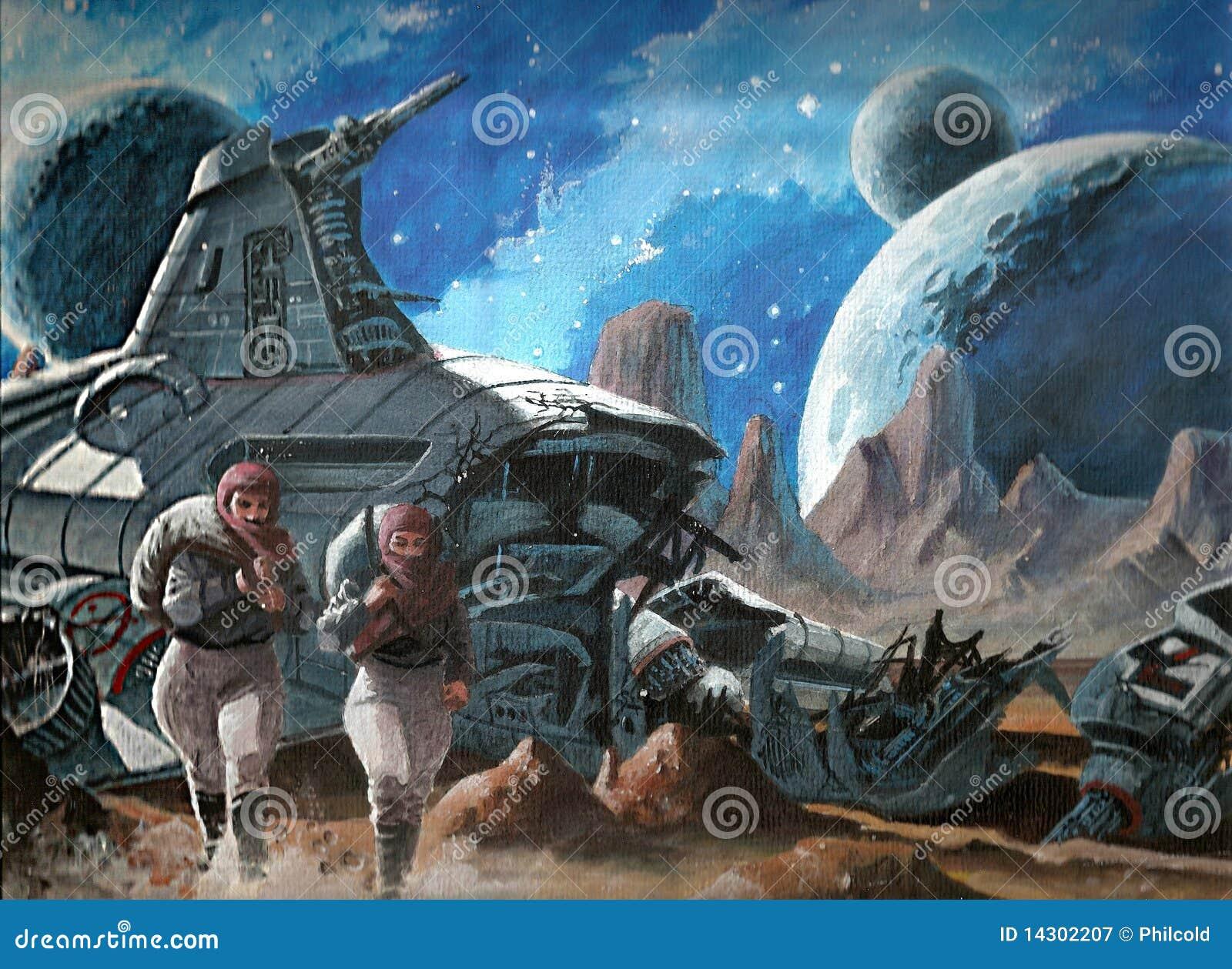 space ship crash - photo #44