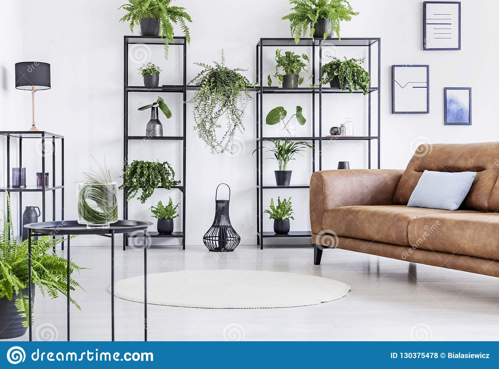 Astonishing Spacious White Living Room With Urban Jungle On Black Metal Andrewgaddart Wooden Chair Designs For Living Room Andrewgaddartcom