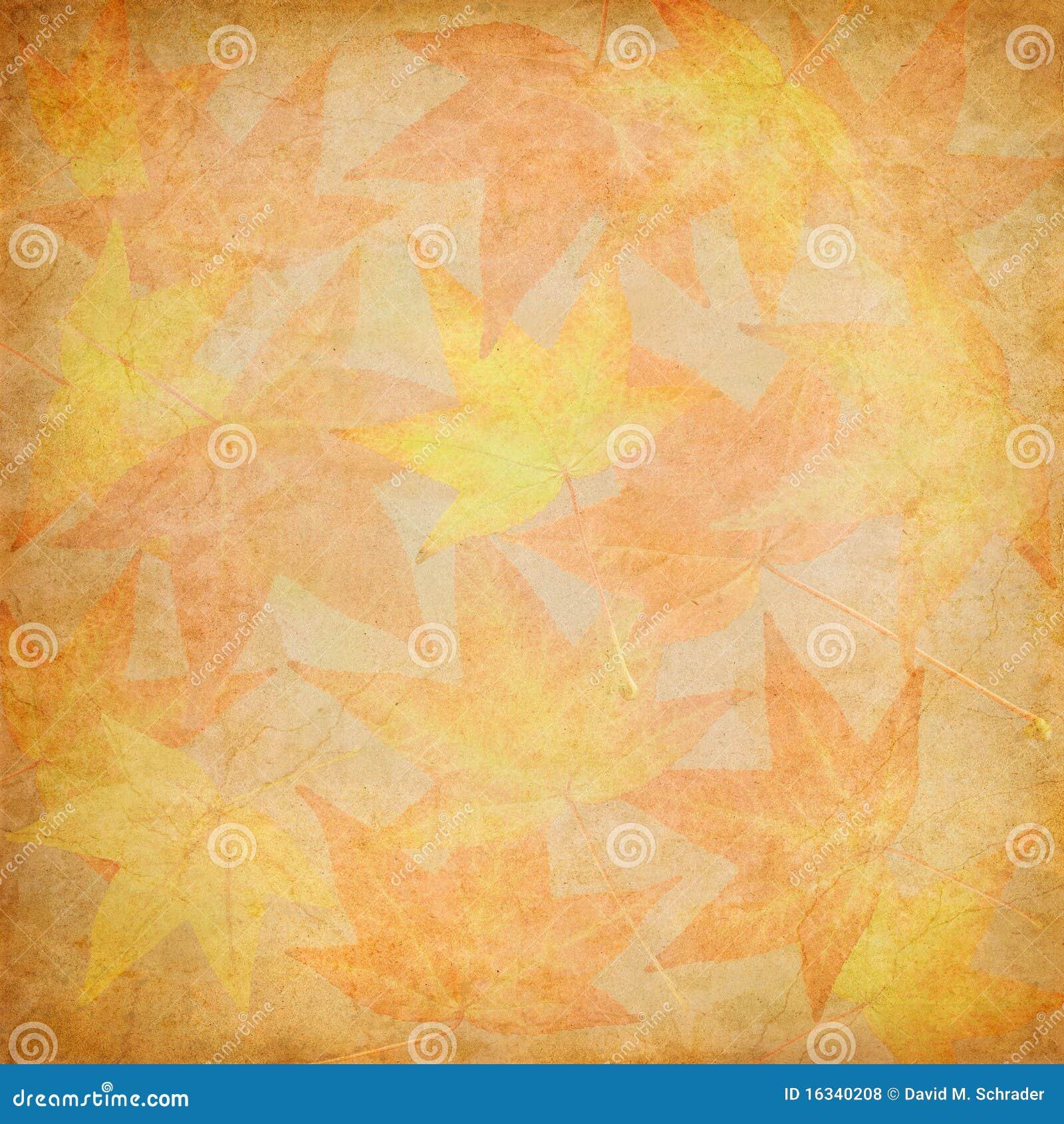 Spadek liść mozaika
