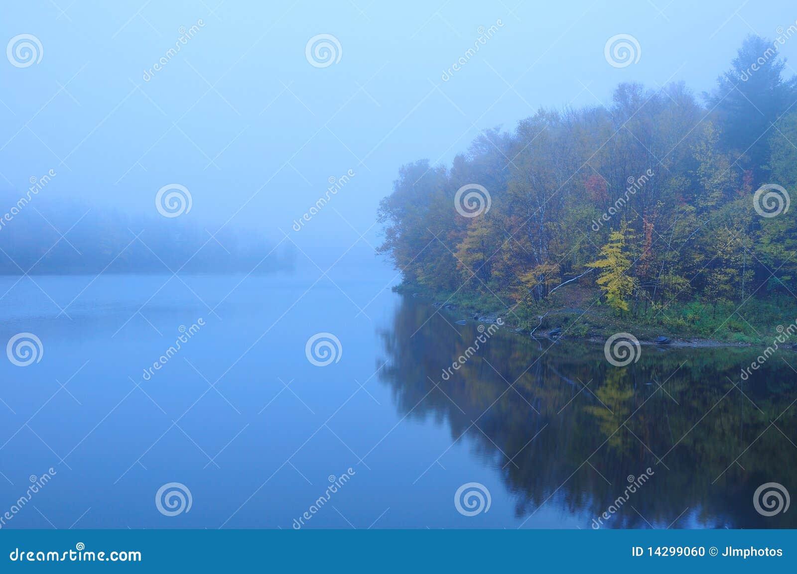 Spadek mgłowy mglisty stawowy Vermont
