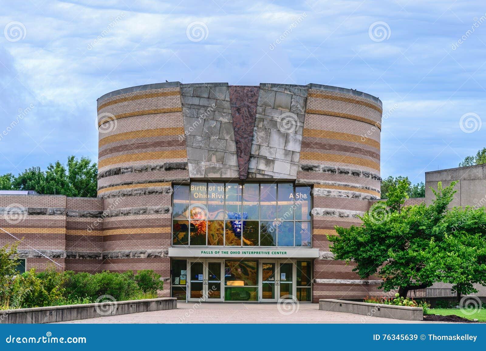 Spadki Ohio Interpretive centrum