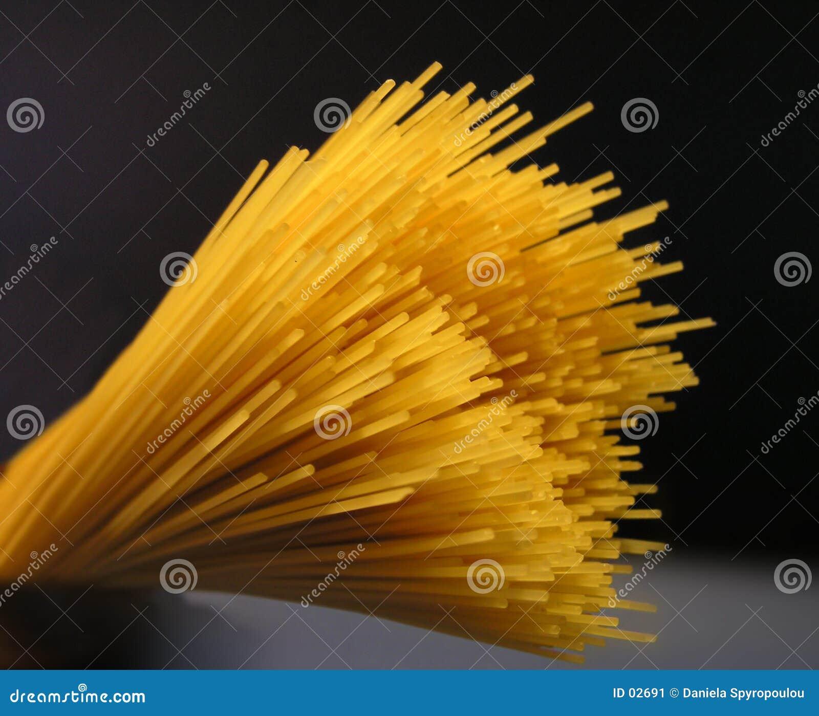 Download Spagetti fotografering för bildbyråer. Bild av close, matvara - 2691