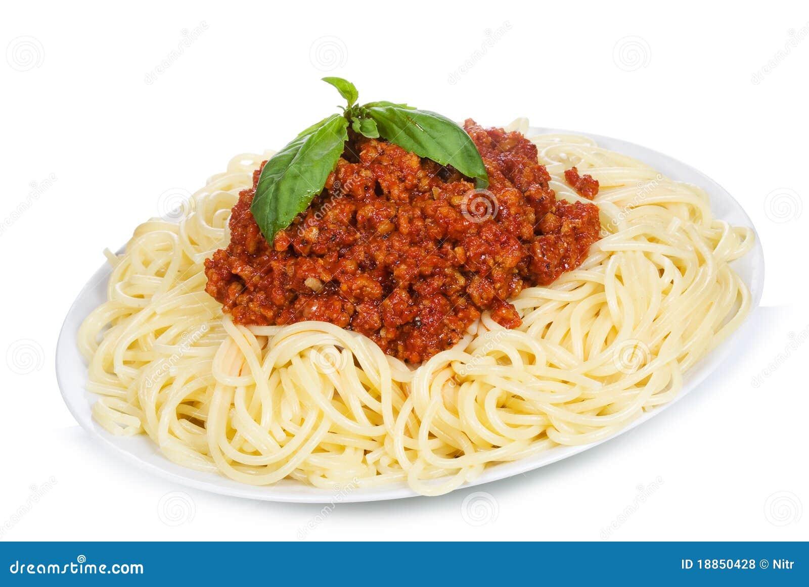 Spaghetti Bolognese Royalty Free Stock Photos - Image: 18850428