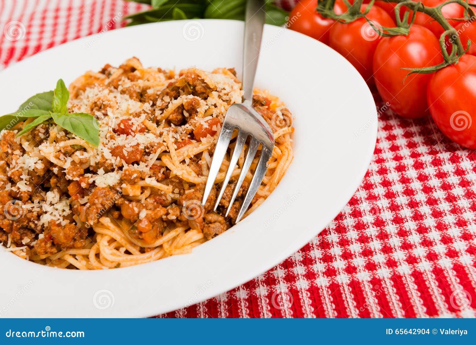 Spaghetti Bolonais