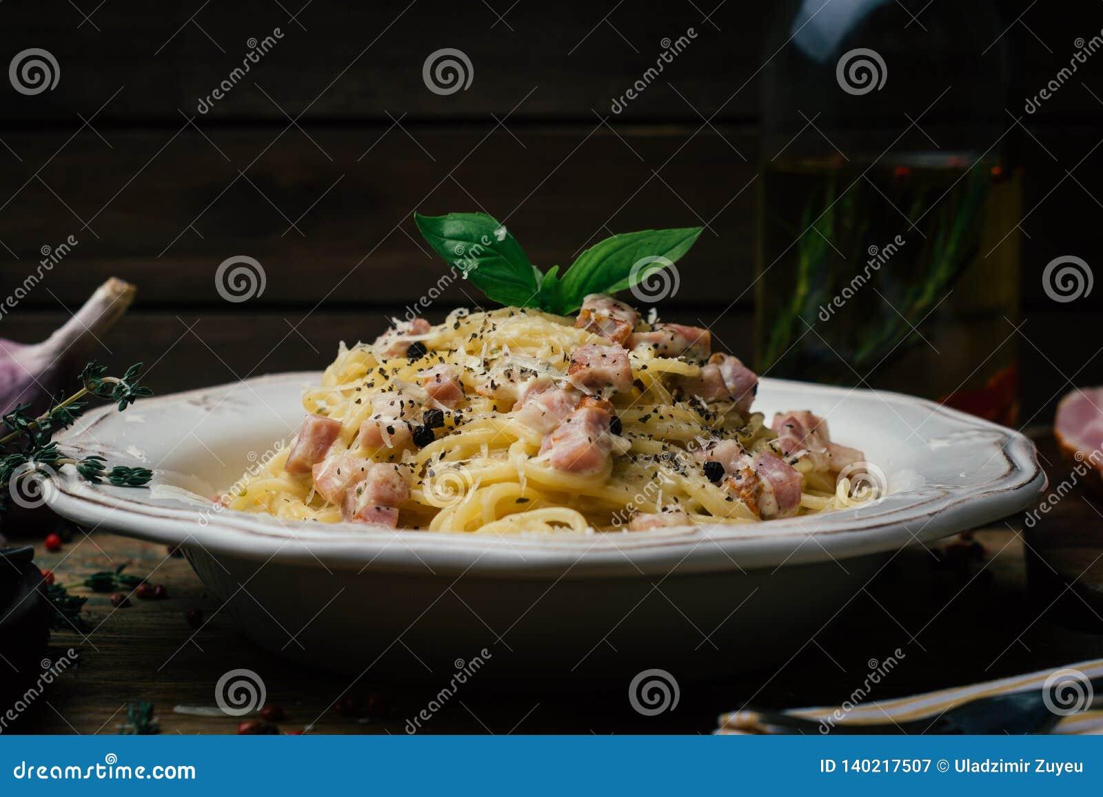 Spaghetti Carbonara E