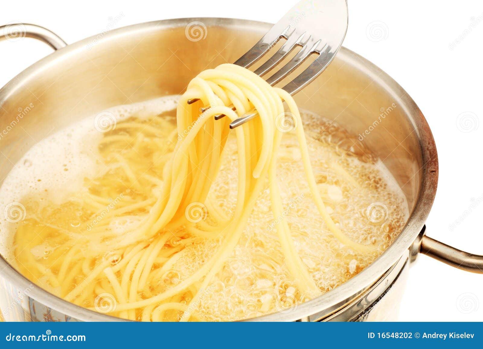 Spaghetti d ebollizione