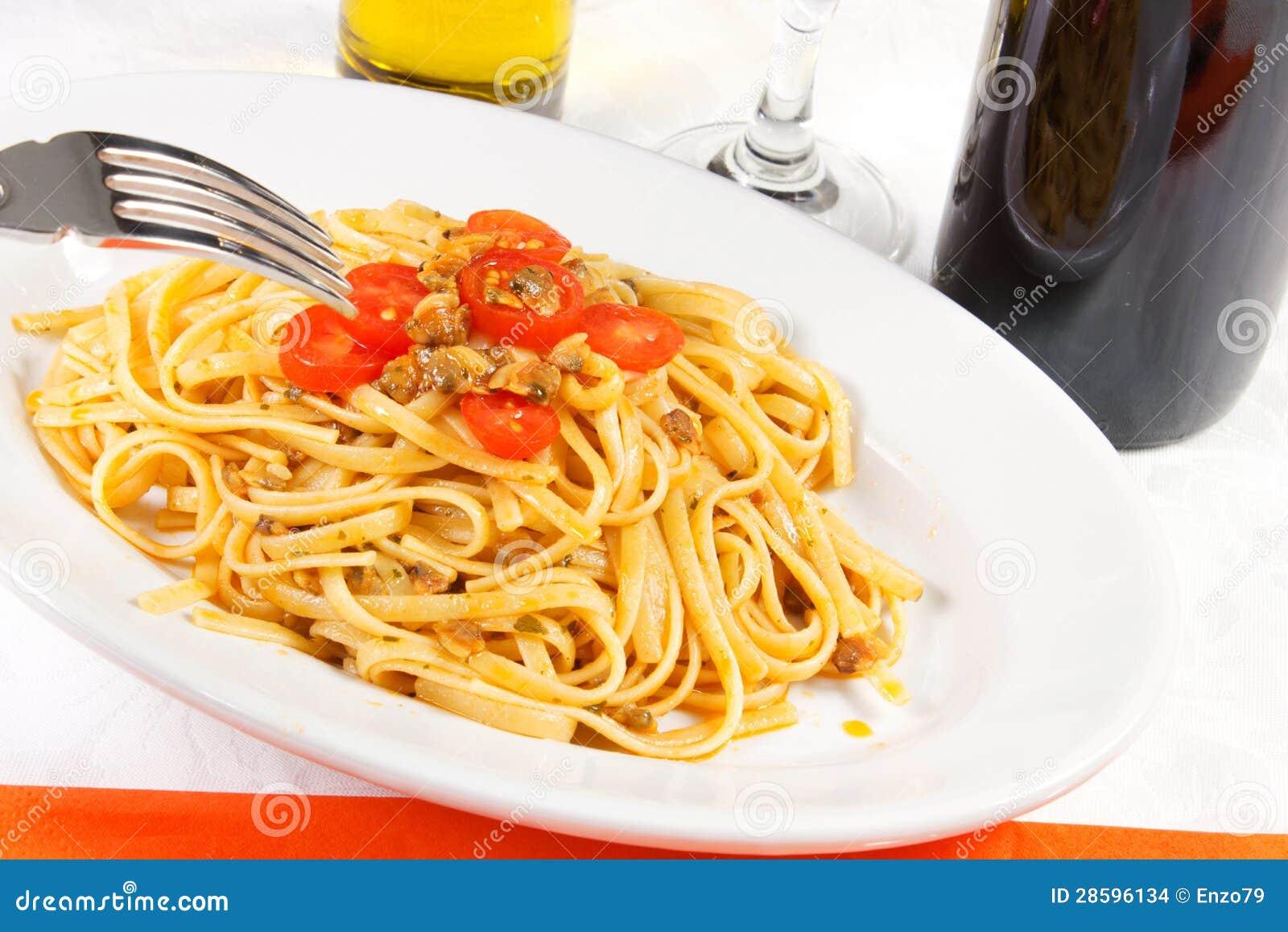 Spaghetti dei molluschi