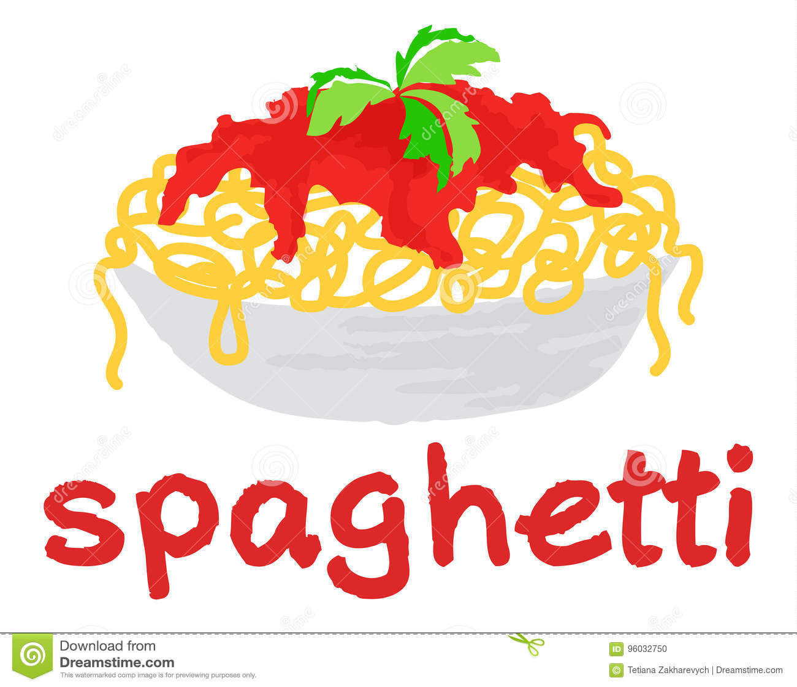 Spaghetti majcher