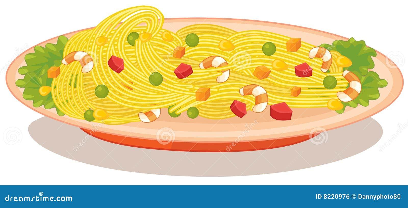 Spaghetti Marinara Royalty Free Stock Image Image 8220976