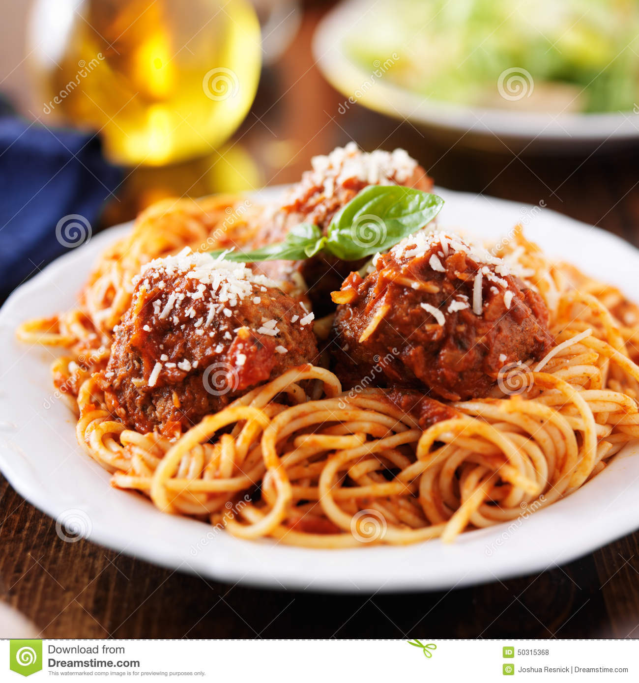 how to make spaghetti and meatballs without tomato sauce