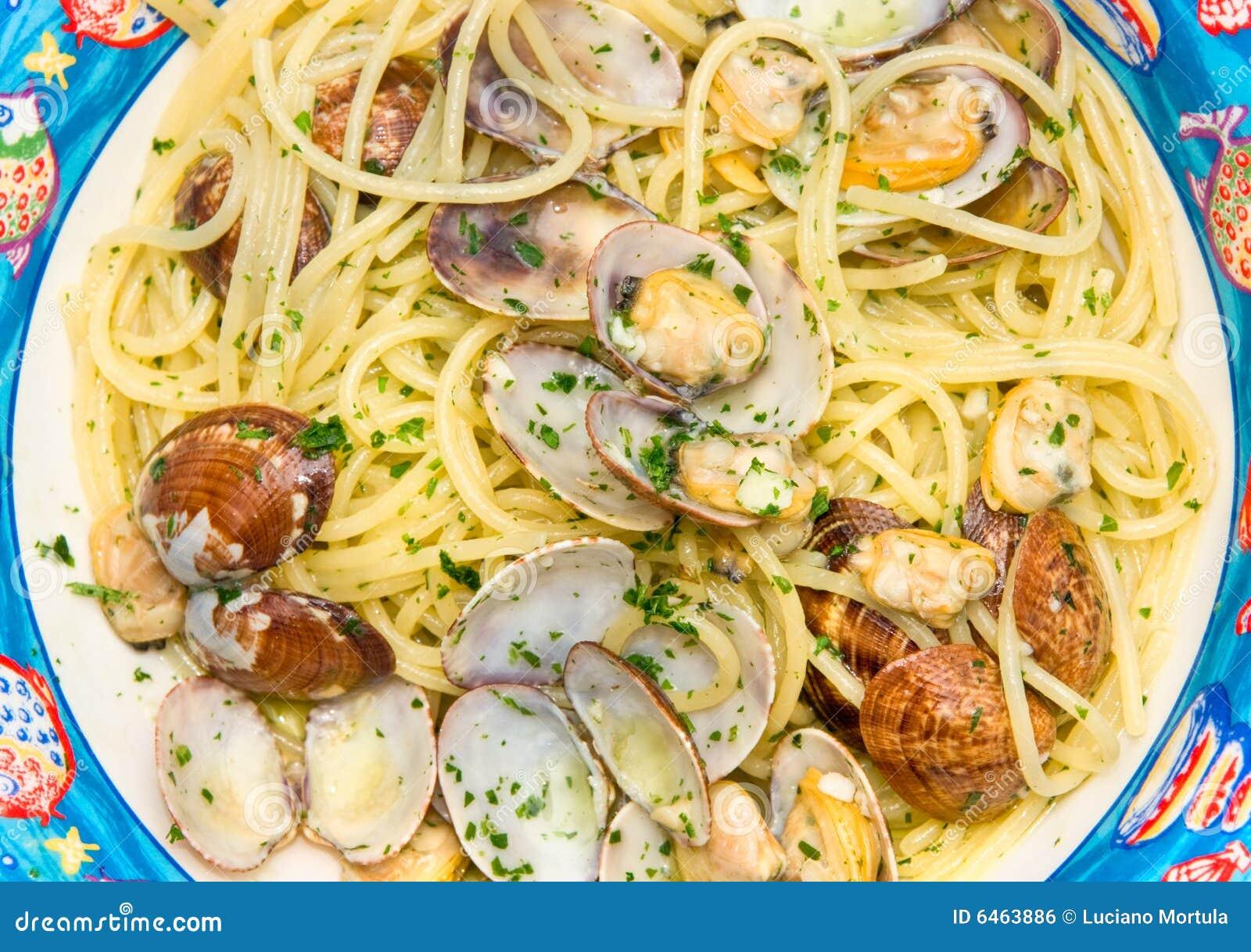 Spaghetti milczka