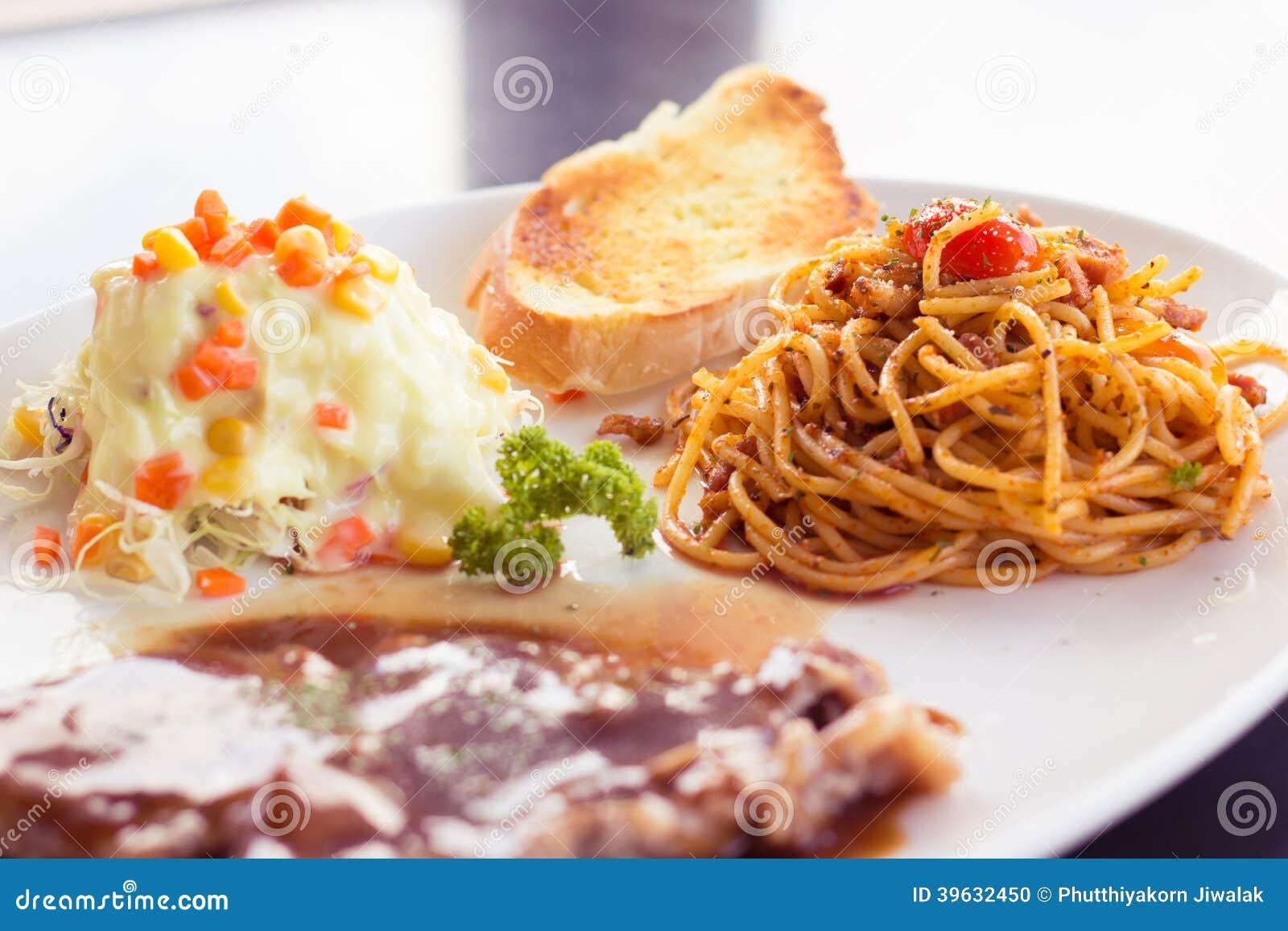 Spaghetti nel mio pranzo