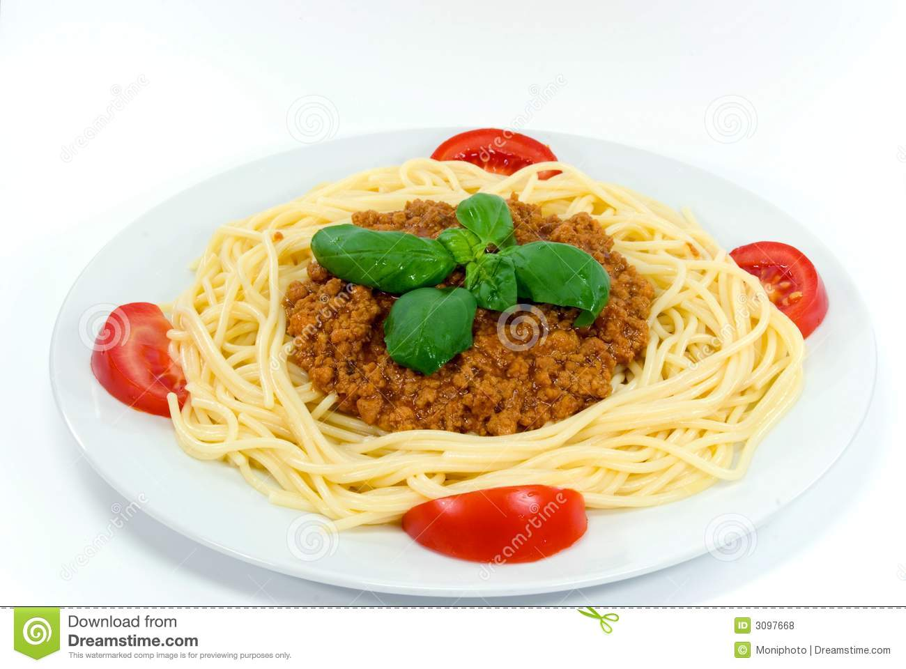 Spaghetti With Sauce Bolognese Royalty Free Stock Photos - Image ...