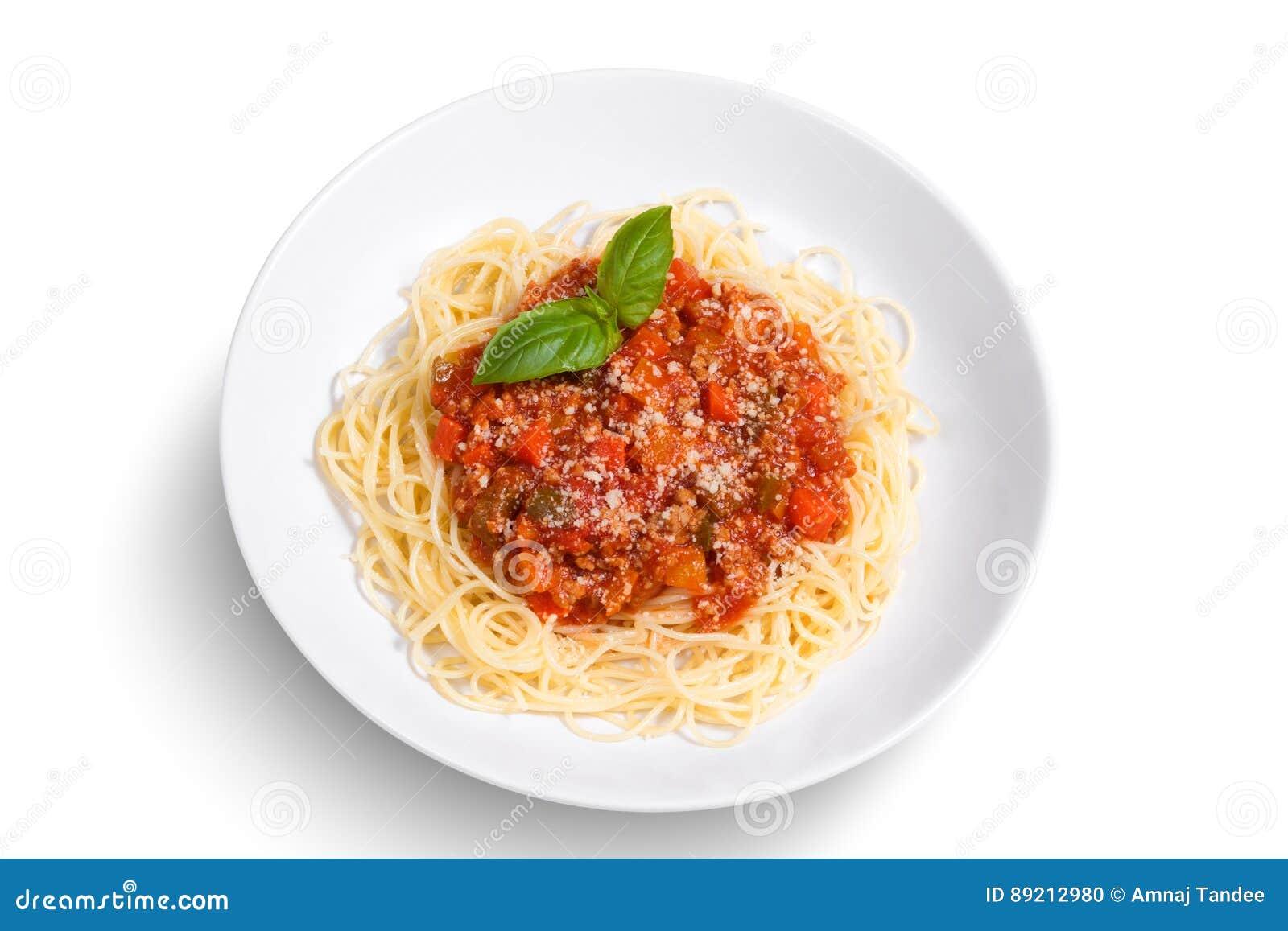 spaghetti sur le fond blanc photo stock image du lumi re cuisine 89212980. Black Bedroom Furniture Sets. Home Design Ideas