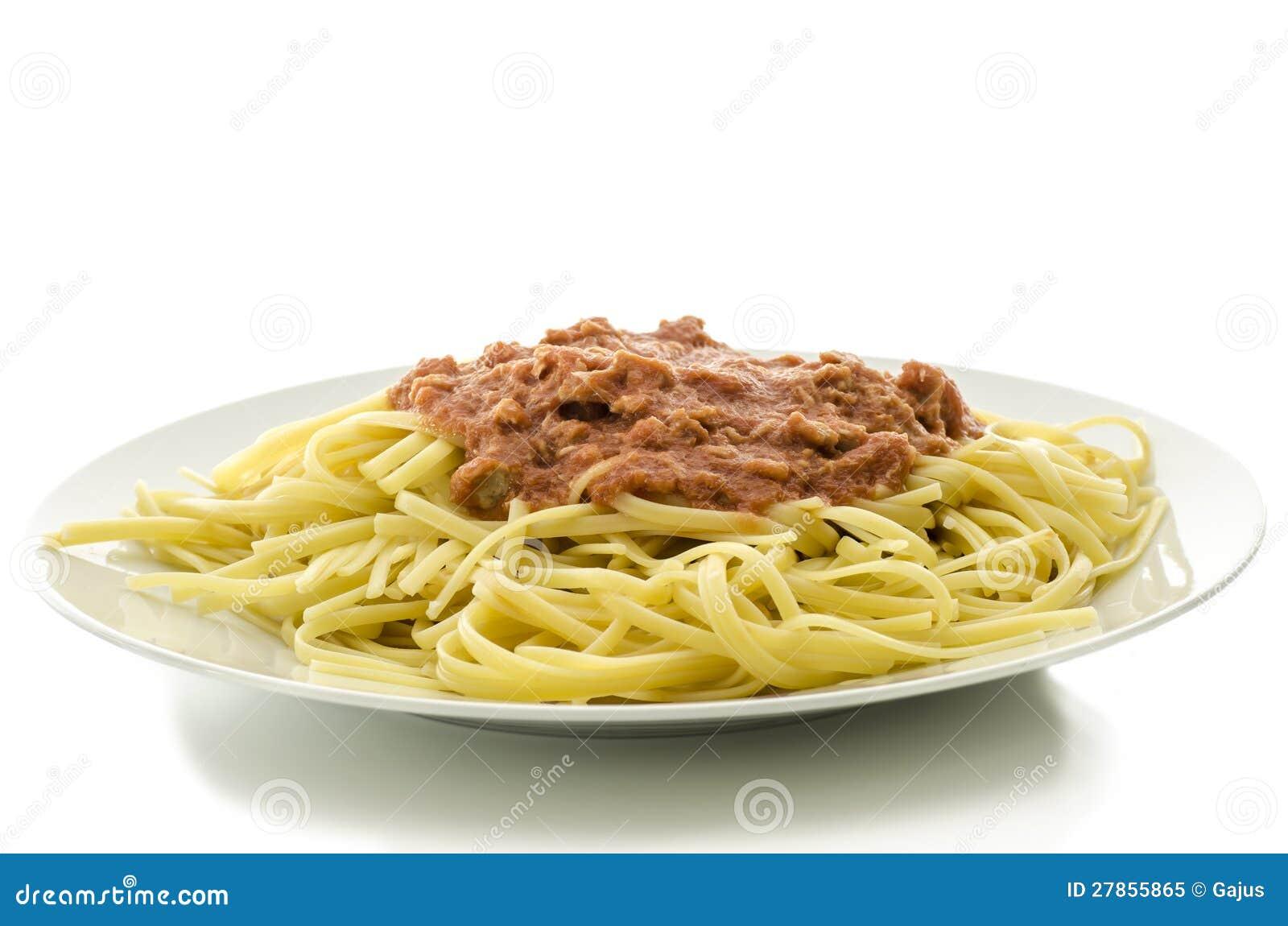 Spaghetti z tuńczykiem i pomidorowym kumberlandem