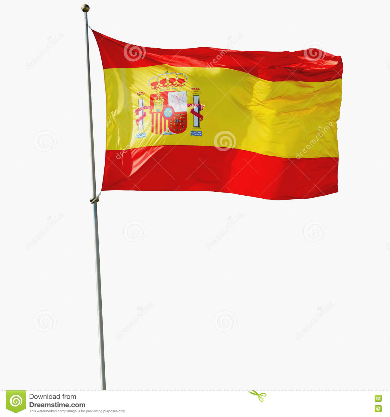 spain background with flag stock vector image 60149856