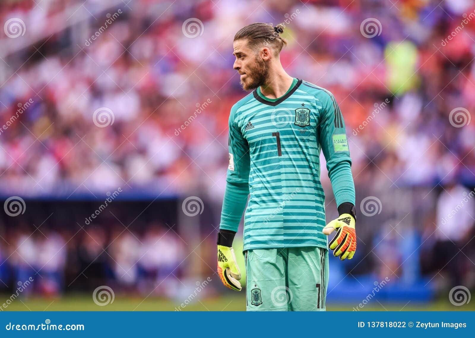 e47300fc5 Spain National Football Team Goalkeeper David De Gea Editorial ...
