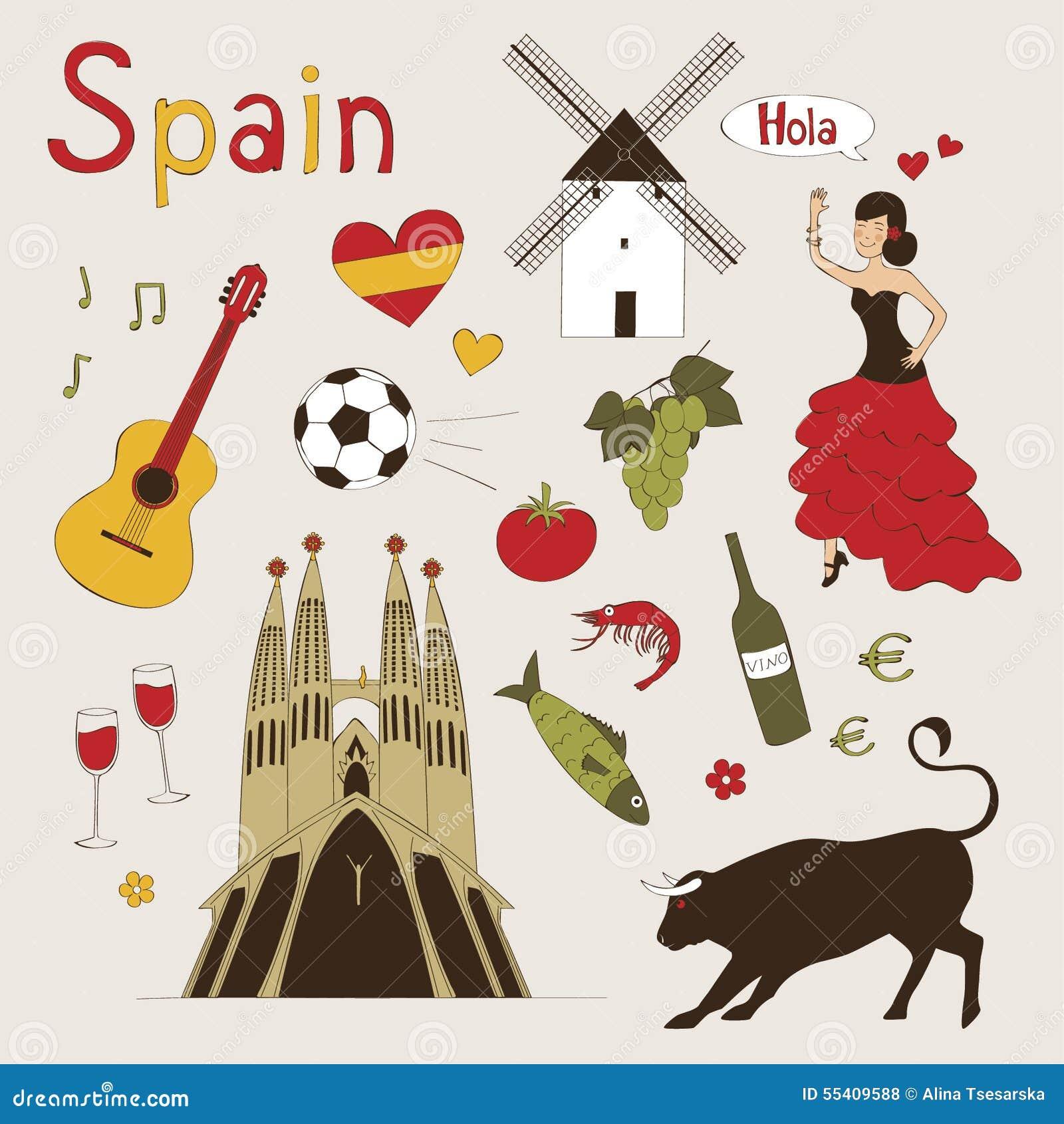 Раскраска испания для детей
