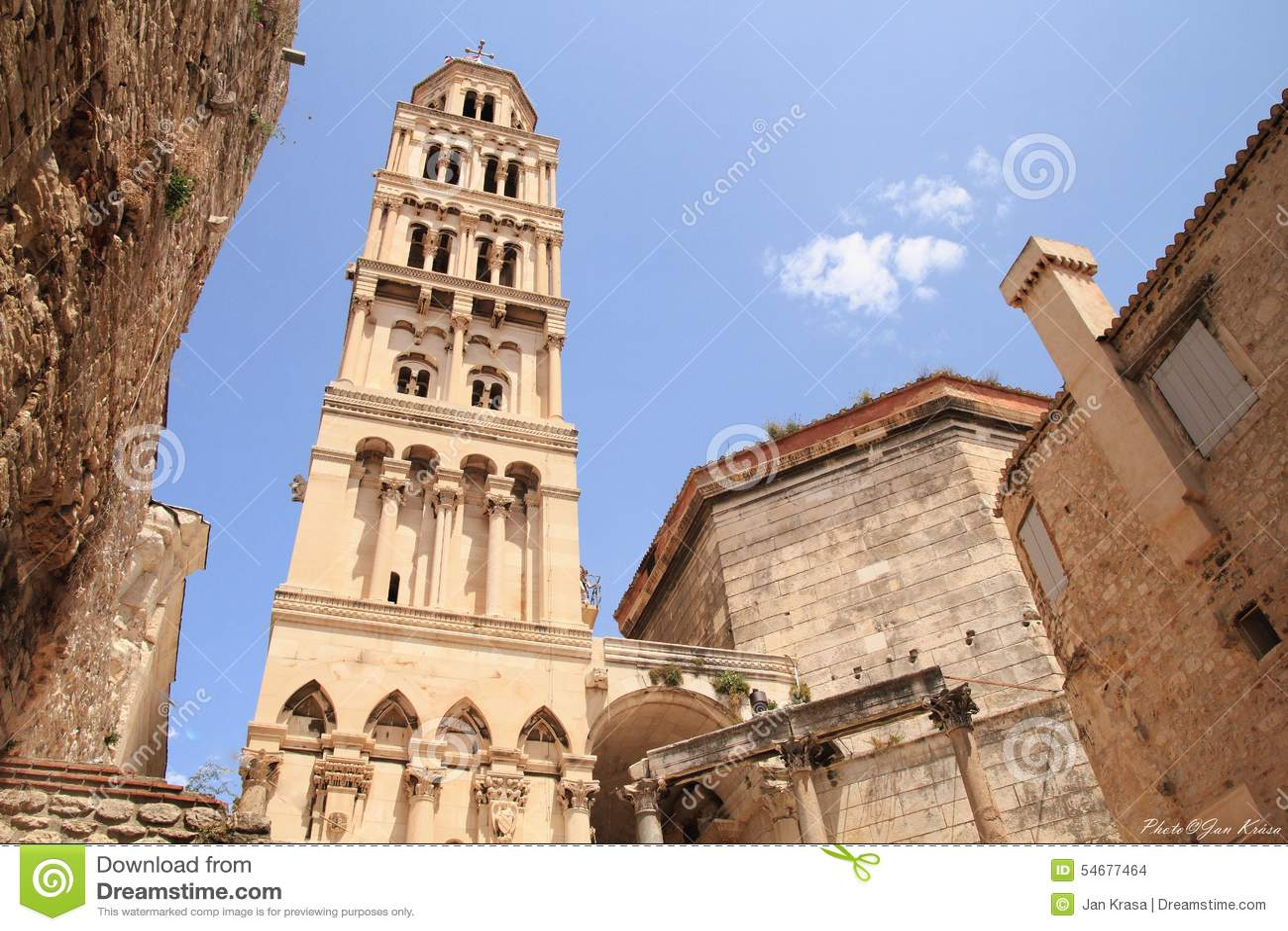Spalte - Detail - Turm