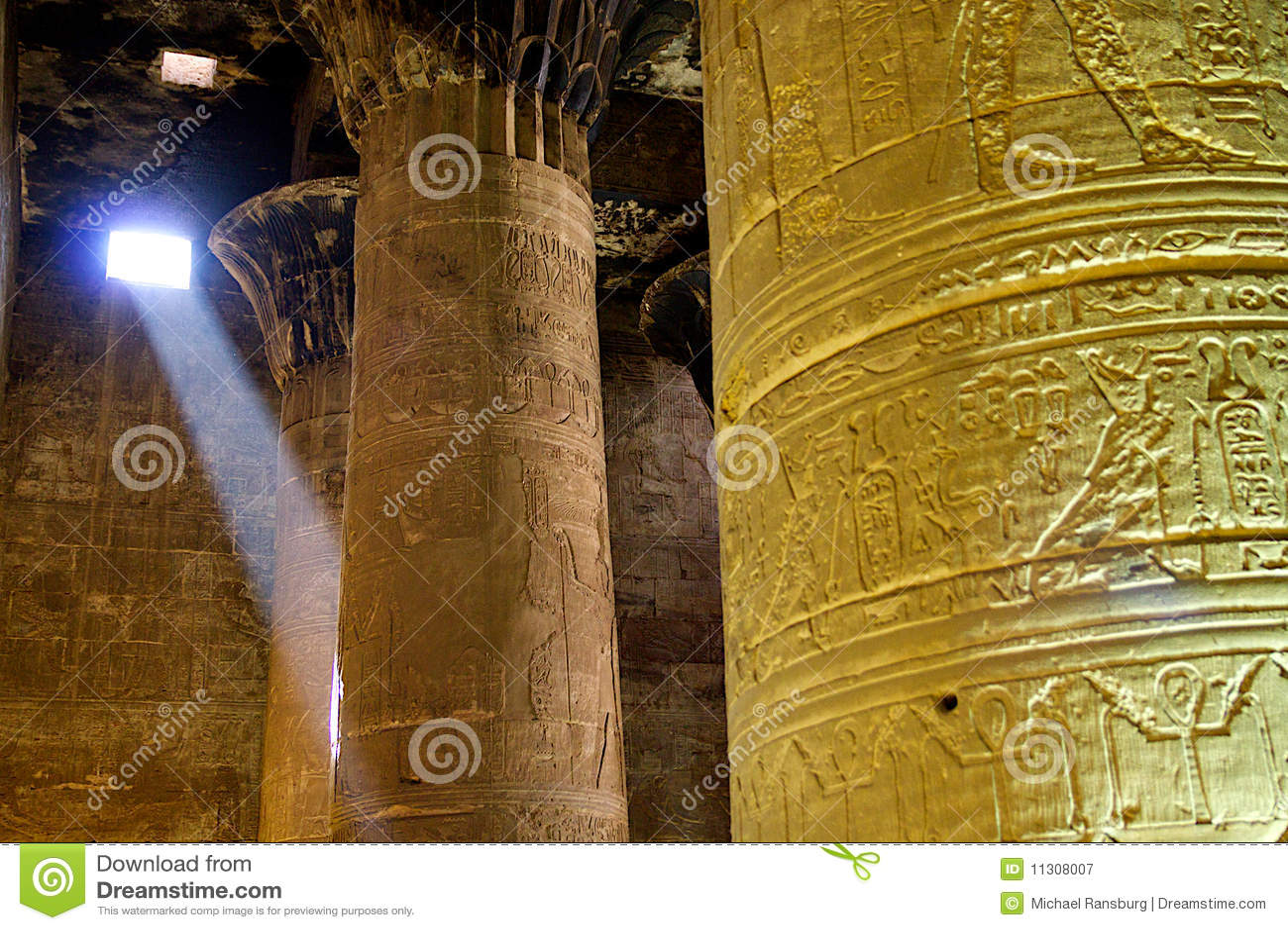 Spalten in Ägypten