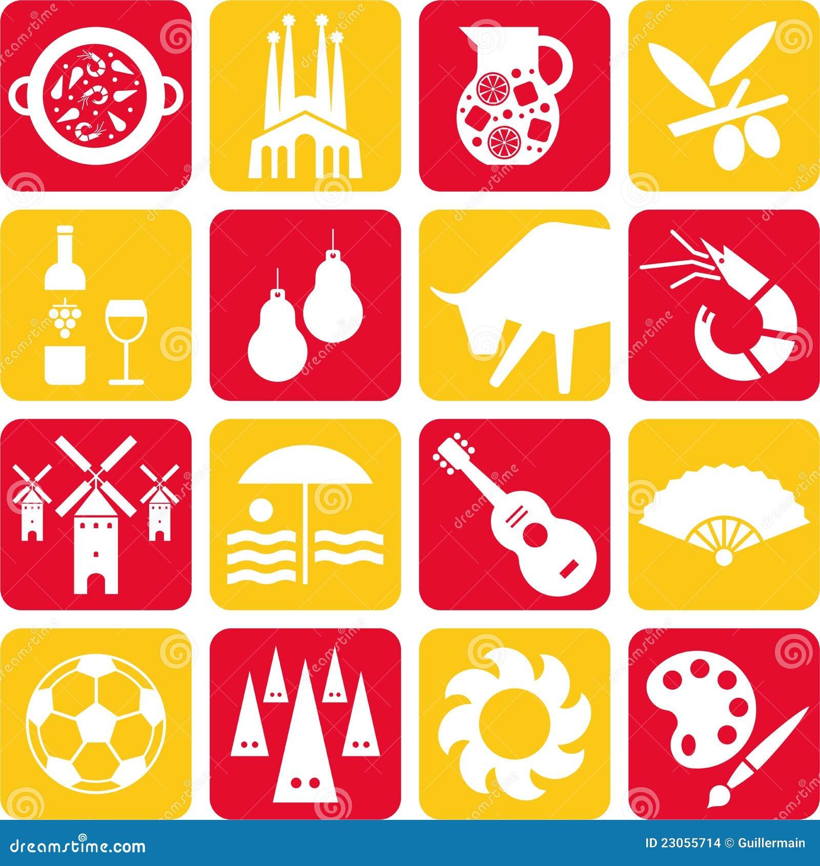 Paella on white vector stock vector image 68986544 - Spanien Piktogramme Stockbilder