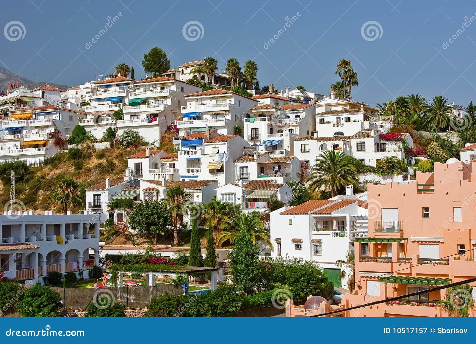 Spanische Landschaft, Nerja, Costa Del Sol
