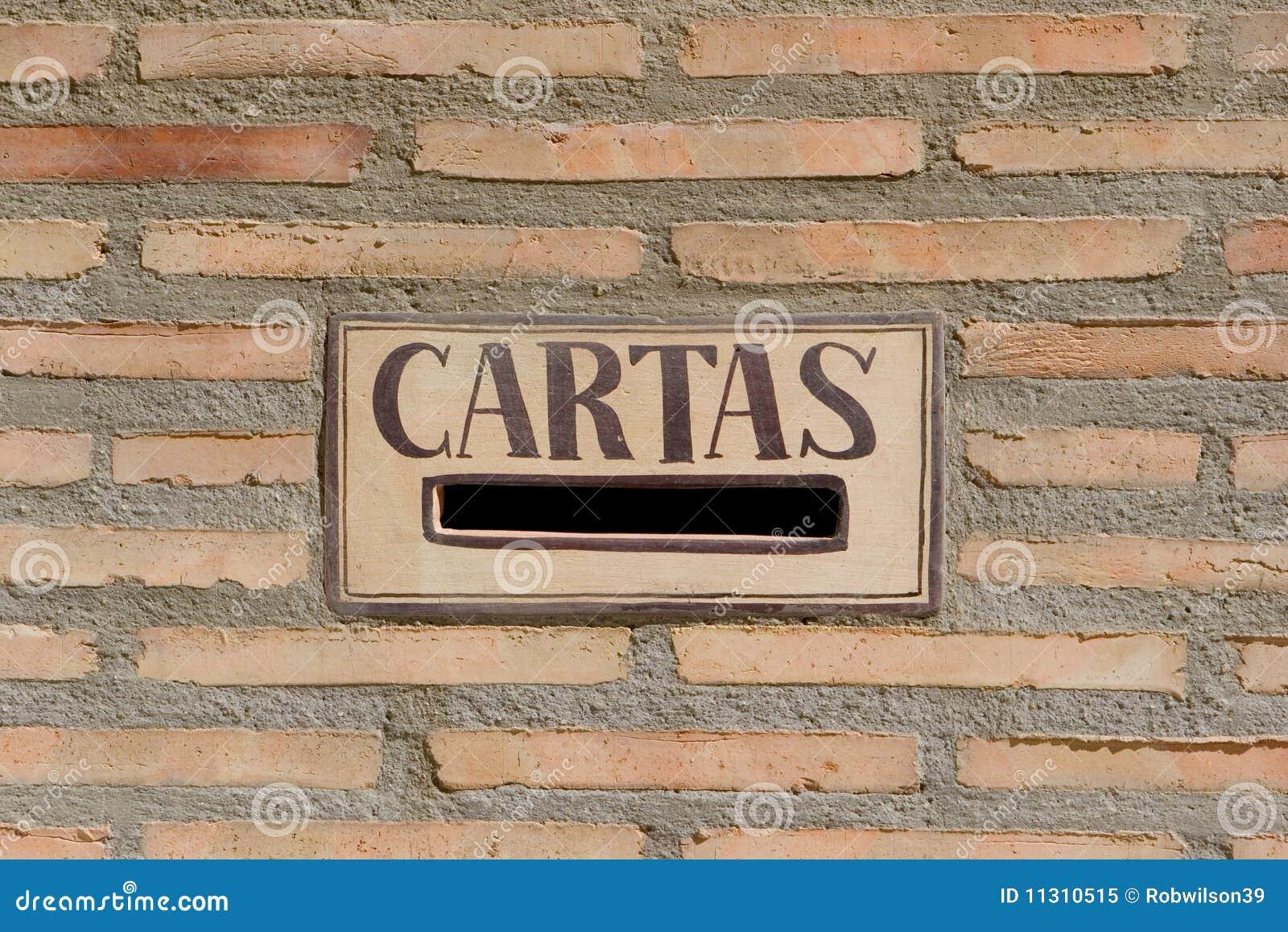 Spanische Mailbox