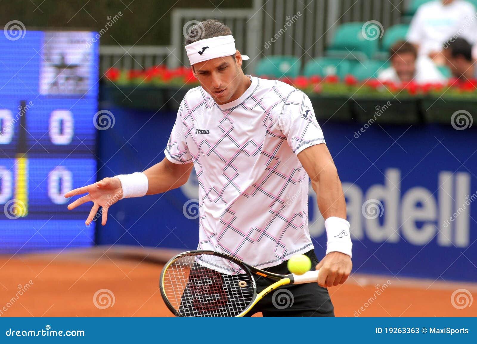Spanischer Tennisspieler