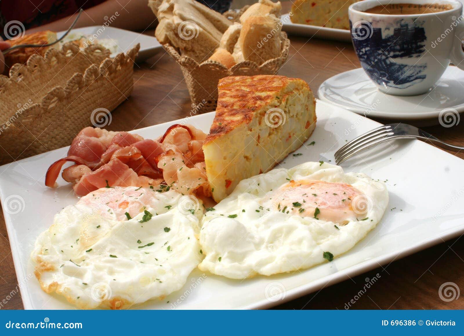 Frühstück Spanisch