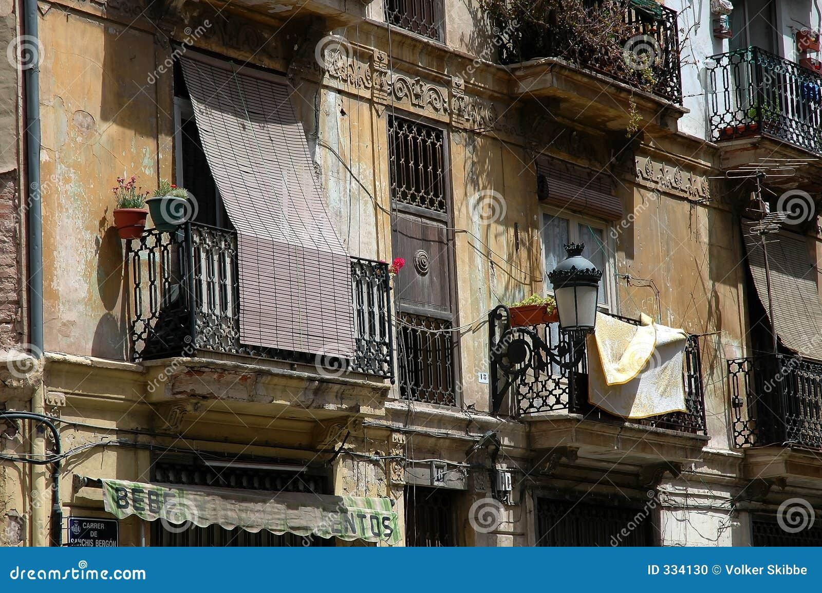 Spanish balconies stock photo image 334130 for Balcony in spanish