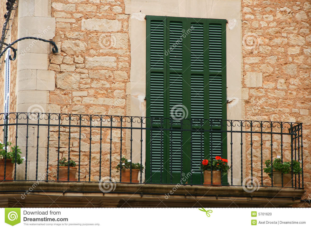 Spanish balcony stock photo image of entry design for Balcony in spanish
