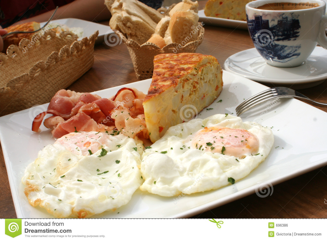 Spanish Breakfast Royalty Free Stock Image Image 696386