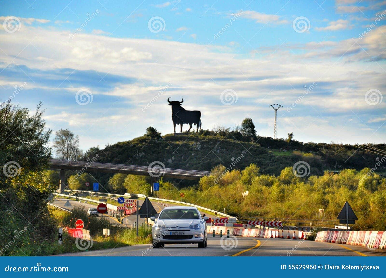 Spanish bull sign