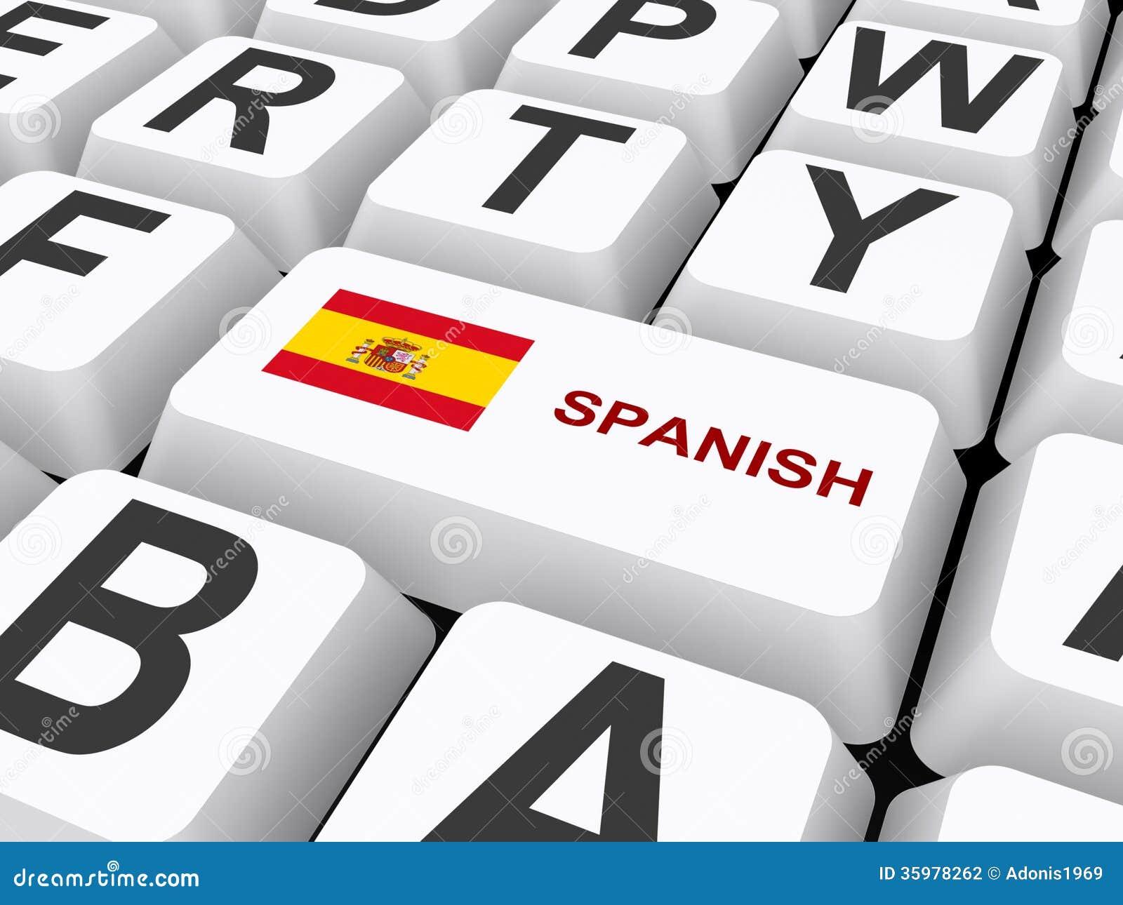 Spanish button on keyboard stock illustration illustration of download spanish button on keyboard stock illustration illustration of letters 35978262 spiritdancerdesigns Images
