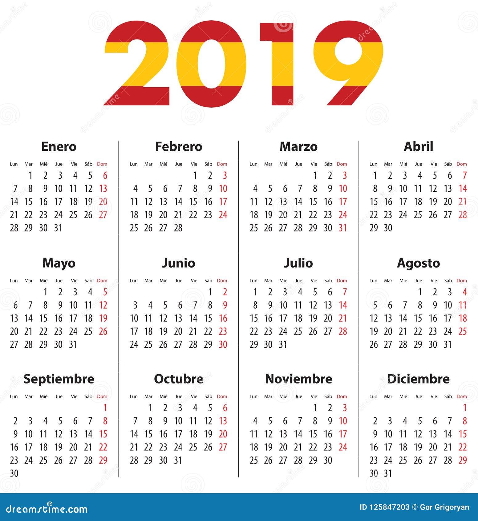 April Calendar In Spanish : April calendar spanish picture pictures printable