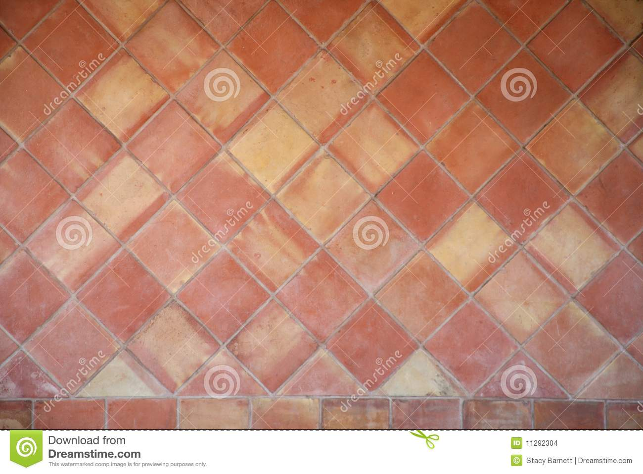 Spanish ceramic tile background stock images image 11292304 for Spanish clay tile