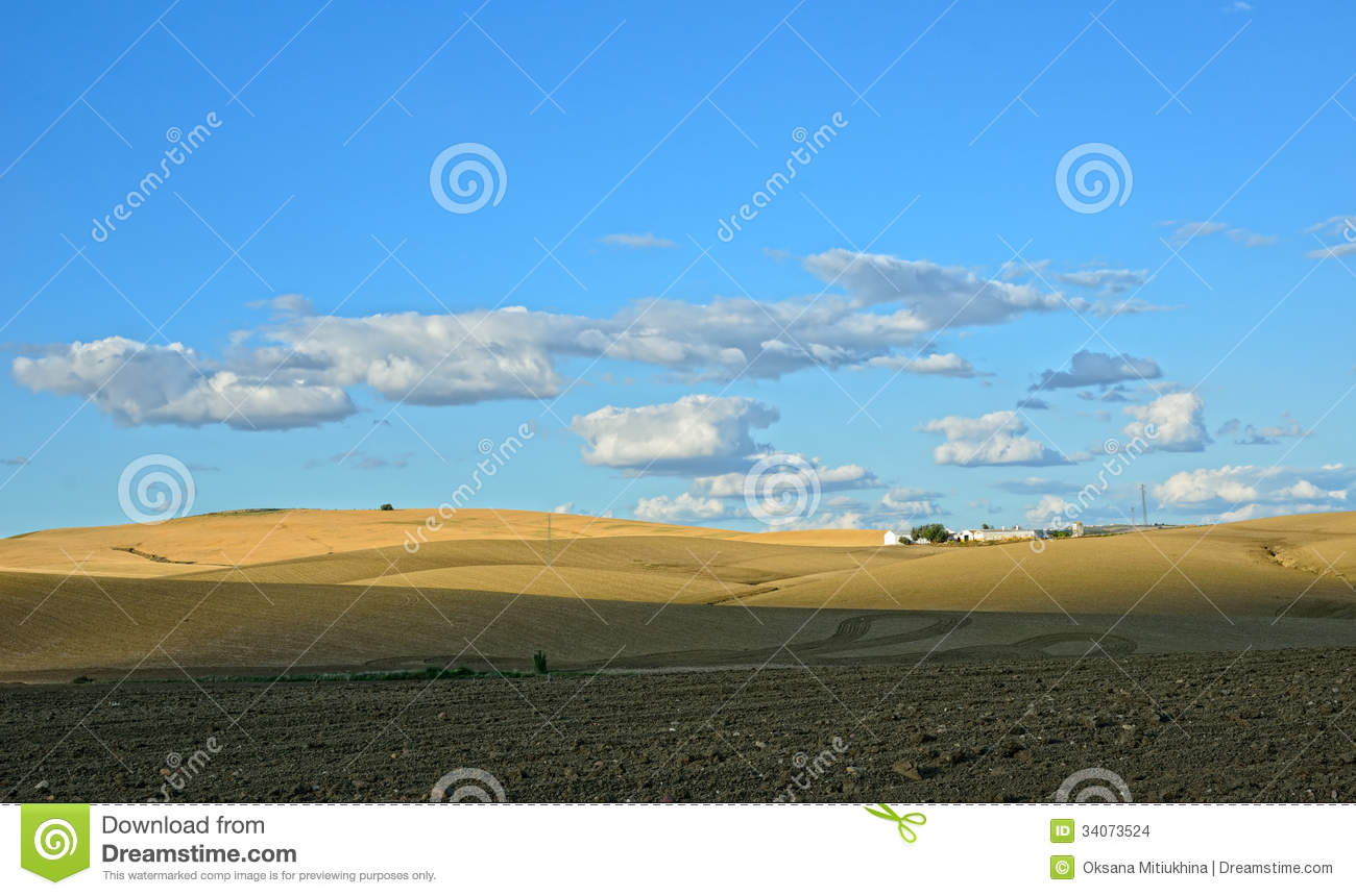 Spanish Country Landscape In Spring Stock Images Image