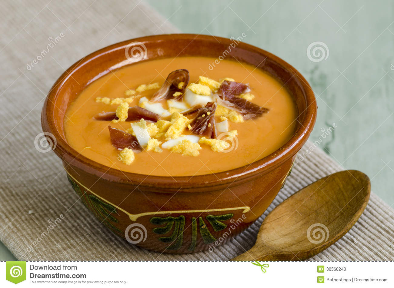 Spanish cuisune salmorejo stock photo image 30560240 for Andalusia cuisine