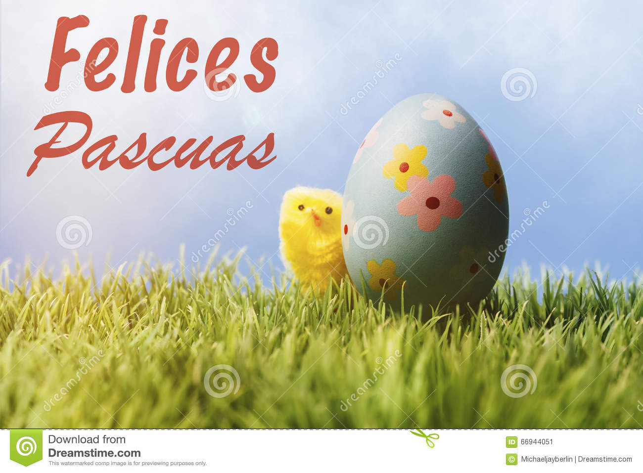 Spanish easter greeting text blue easter egg and chicken stock download spanish easter greeting text blue easter egg and chicken stock image image of m4hsunfo